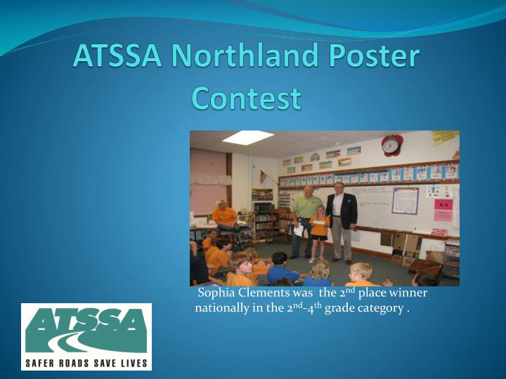 ATSSA Northland Poster Contest