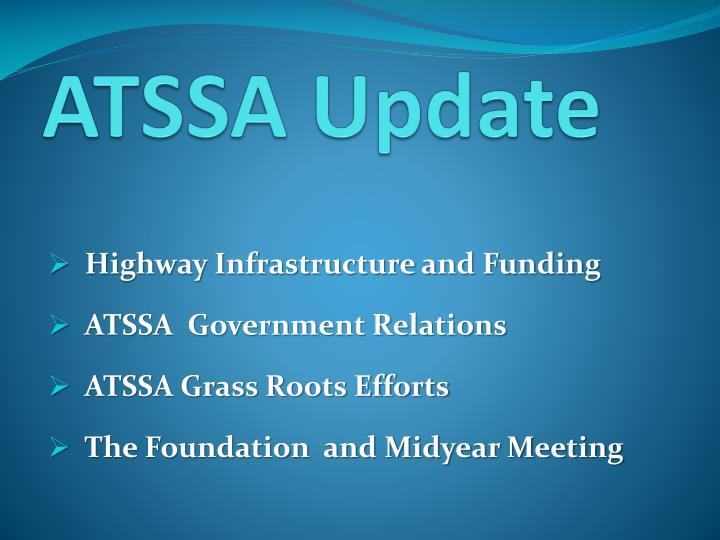 ATSSA Update