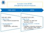 evolution of the btwc strengthening national measures