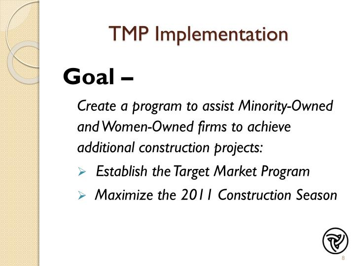 TMP Implementation