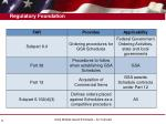 regulatory foundation