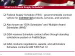what is a federal supply schedule