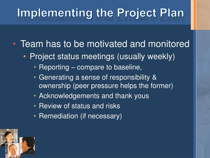 Implementing