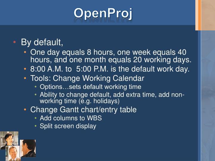 OpenProj