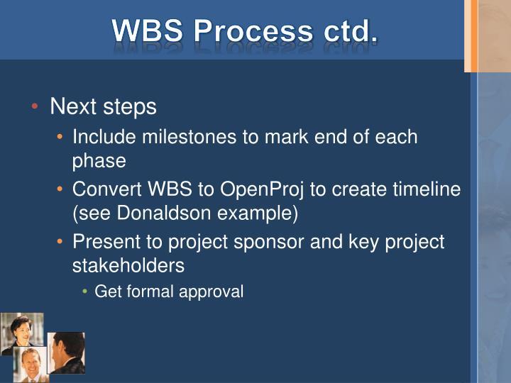 WBS Process
