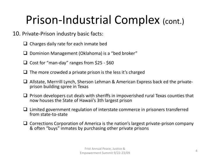 Prison-Industrial Complex
