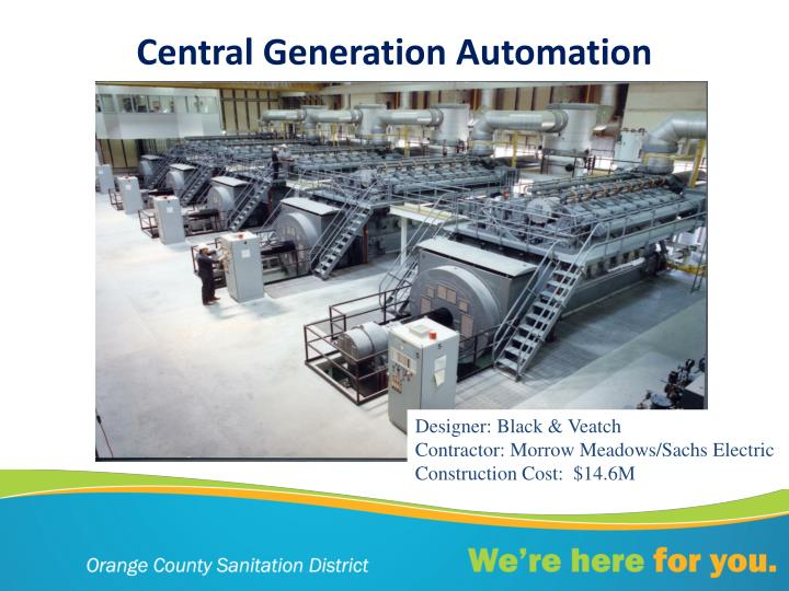Central Generation Automation