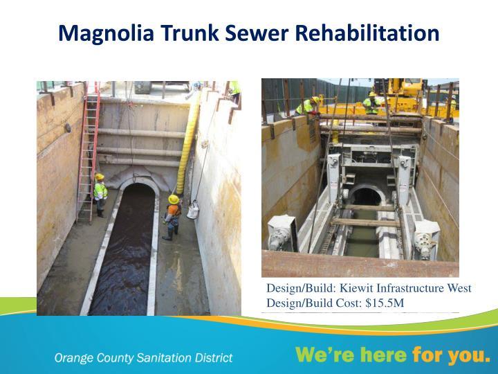 Magnolia Trunk Sewer Rehabilitation
