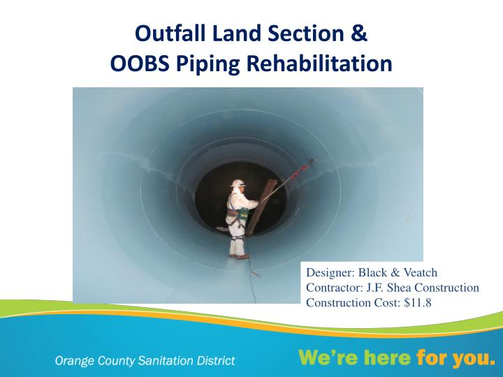 Outfall Land Section &