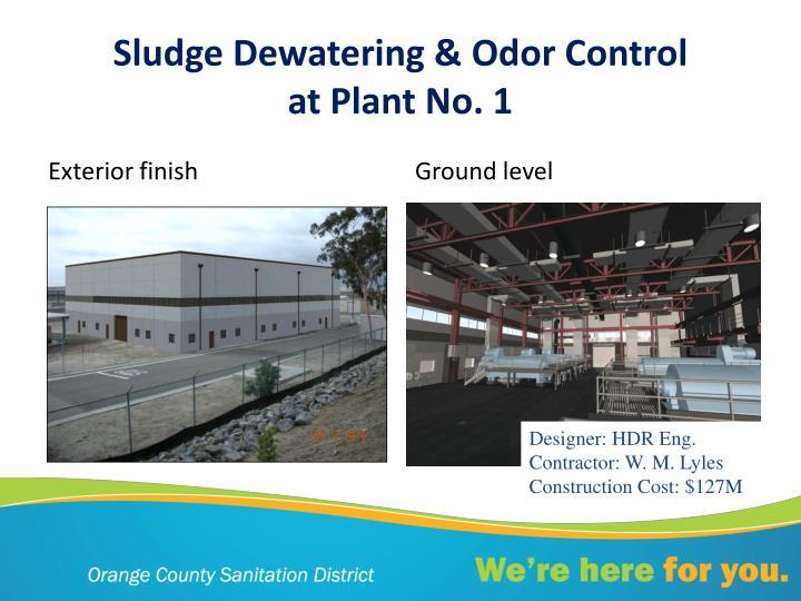 Sludge Dewatering & Odor Control