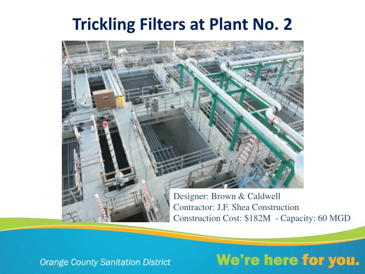 Trickling Filters at Plant No. 2