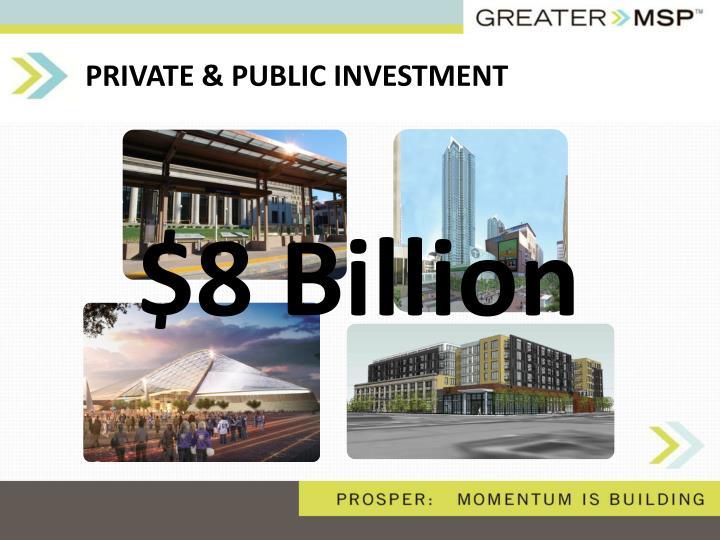 PRIVATE & PUBLIC INVESTMENT