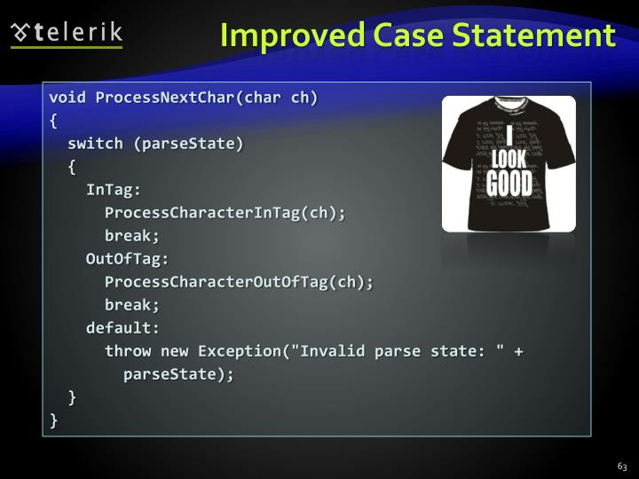 Improved Case Statement