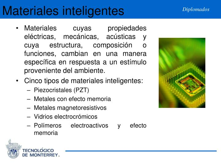 Materiales inteligentes