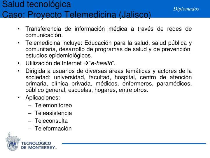 Salud tecnológica