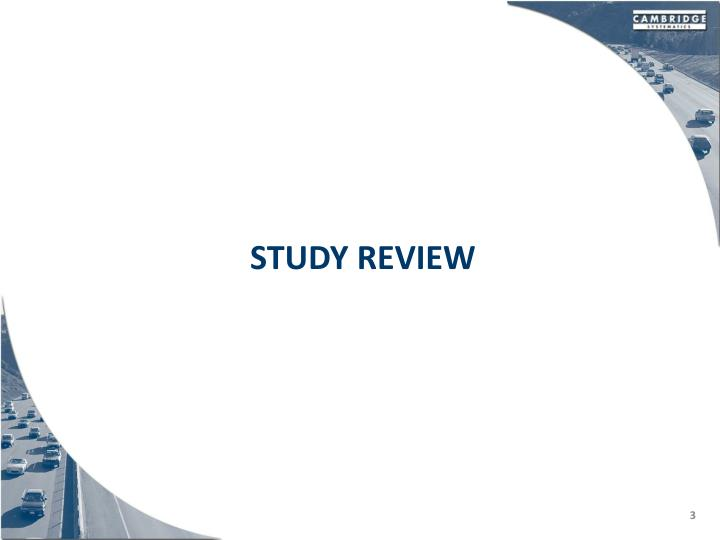 Study review