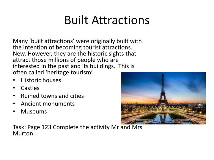 Built Attractions