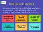 third sector in scotland