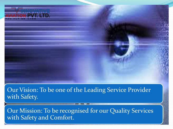 Innovative aviation pvt ltd services offered customers summary