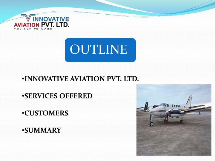INNOVATIVE AVIATION PVT. LTD.