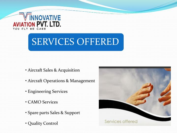 • Aircraft Sales & Acquisition
