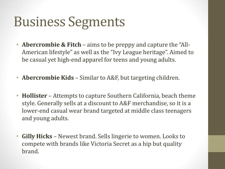 Business Segments