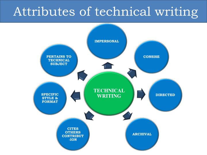 Attributes of technical writing