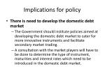 implications for policy3