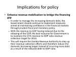 implications for policy4