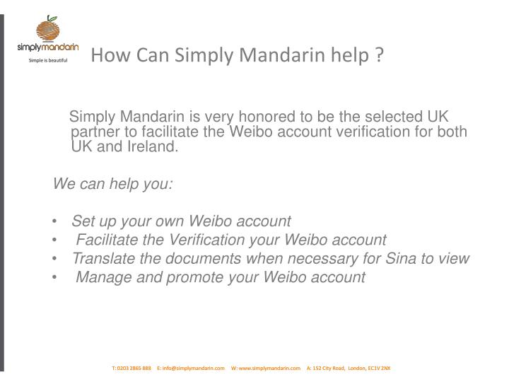 How Can Simply Mandarin help ?