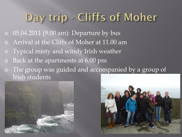 Day trip - Cliffs of