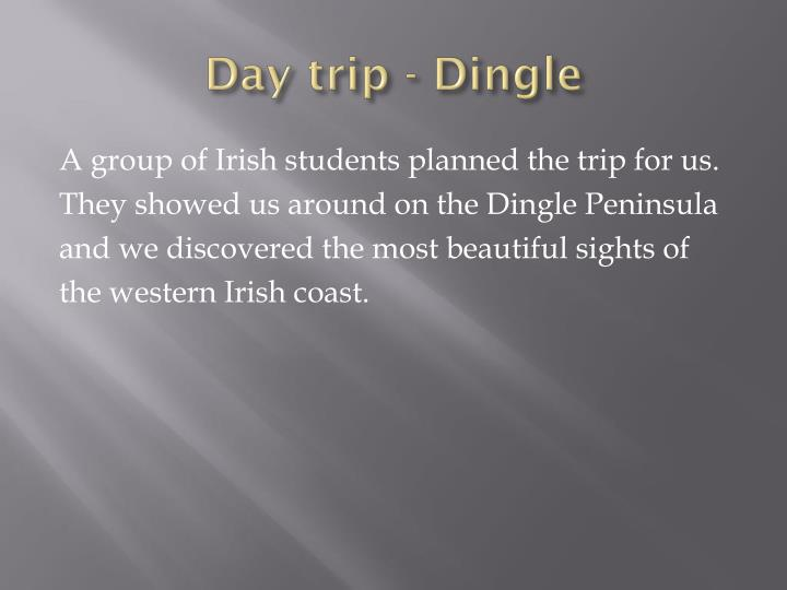 Day trip - Dingle