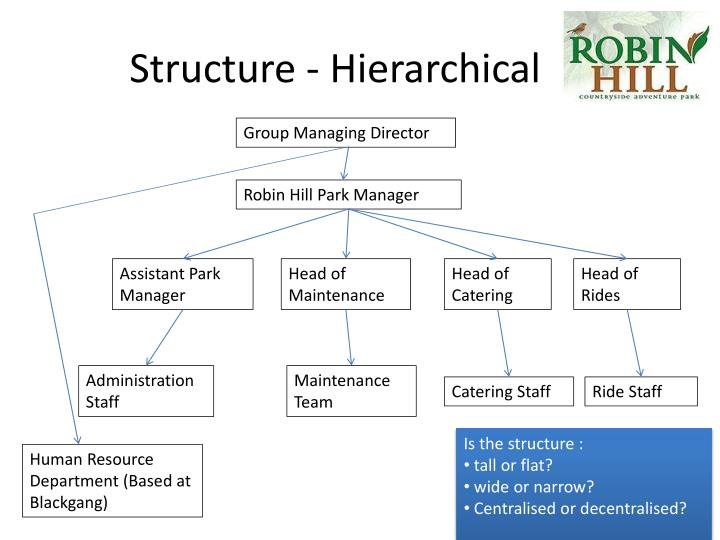 Structure hierarchical