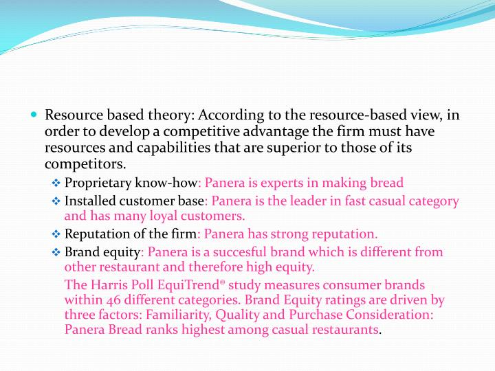panera bread powerpoint The company renamed to panera bread in 1997, and with growing success, sells its remaining shares of au bon pain co in 1999  microsoft powerpoint - panera bread.