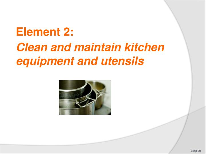 Kitchen tools and their uses ppt kitchen cabinets for Kitchen equipment and their uses