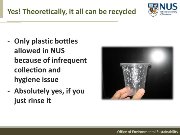 Yes! Theoretically, it all can be recycled