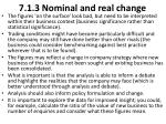 7 1 3 nominal and real change3