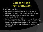 getting to and from graduation1