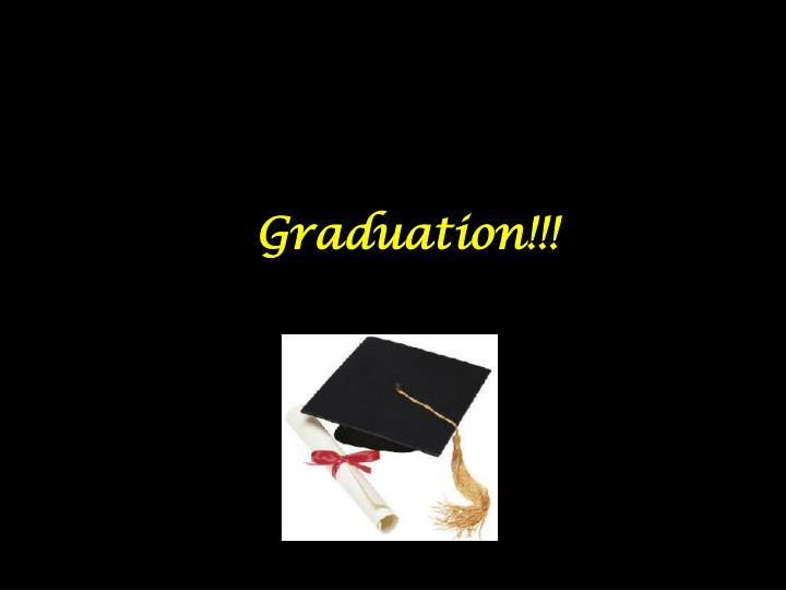 Graduation!!!