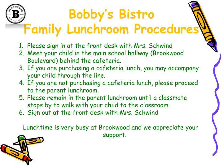Bobby's Bistro