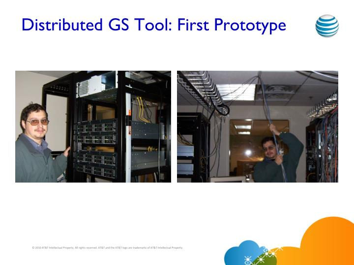 Distributed GS Tool: First Prototype