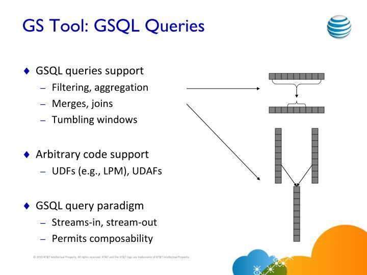 GS Tool: GSQL Queries