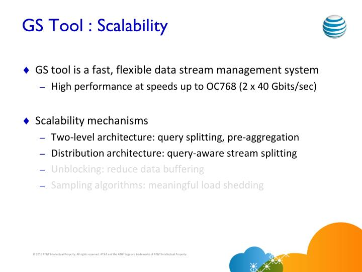 GS Tool : Scalability