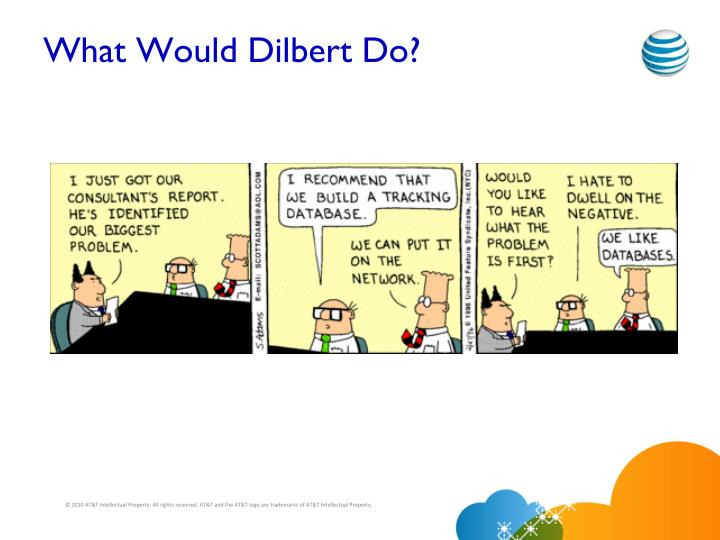 What Would Dilbert Do?