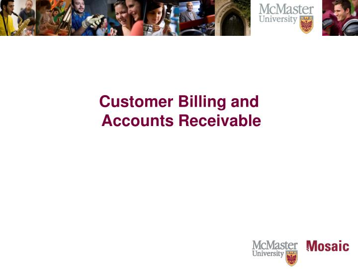Customer Billing and