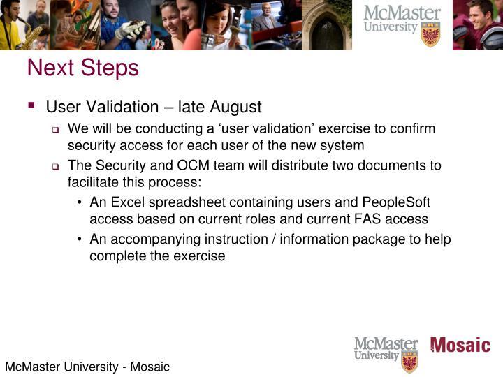 McMaster University - Mosaic