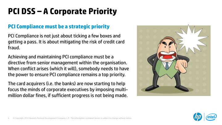PCI DSS – A Corporate Priority