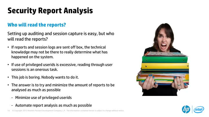 Security Report Analysis