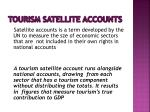 tourism satellite accounts1