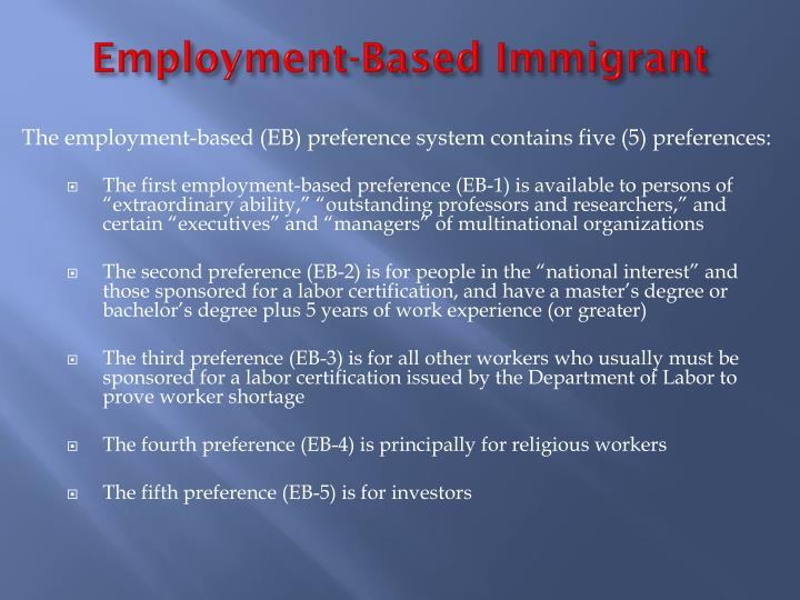 Employment-Based